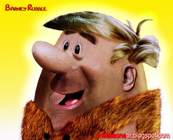 Barney-rubble-Realistic Drawings Of Cartoon Characters