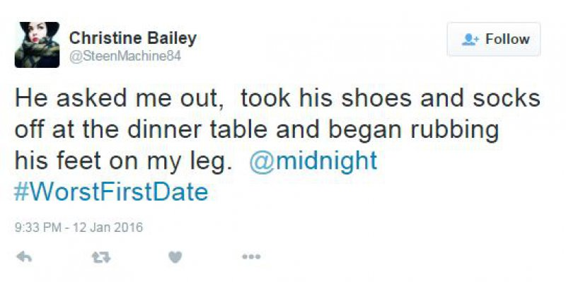 Trying to be Romantic?-15 People Confess Their Worst First Date On Twitter