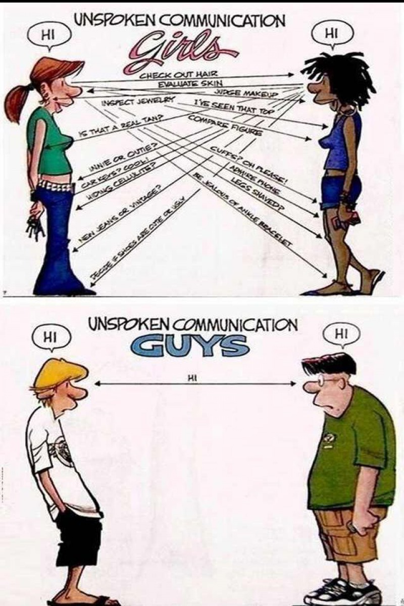 Another Interesting Difference-15 Hilarious Differences Between Men And Women