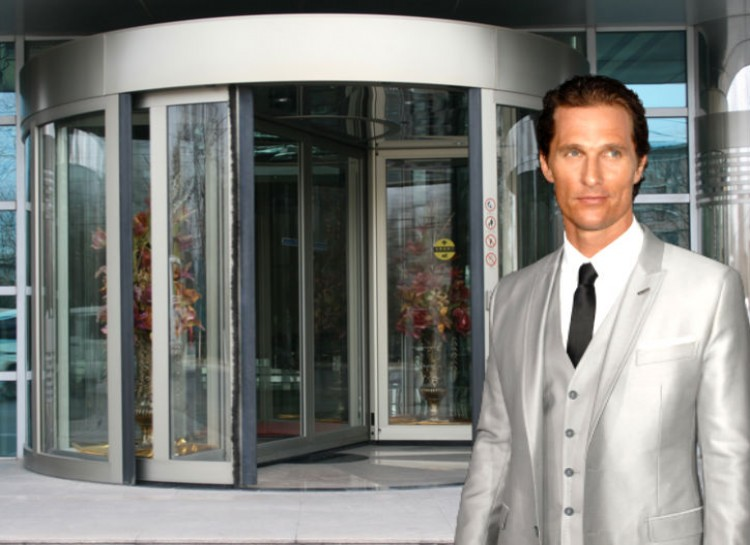 Matthew McConaughey – Fear of Revolving Doors-15 Celebrities With Weird Phobias