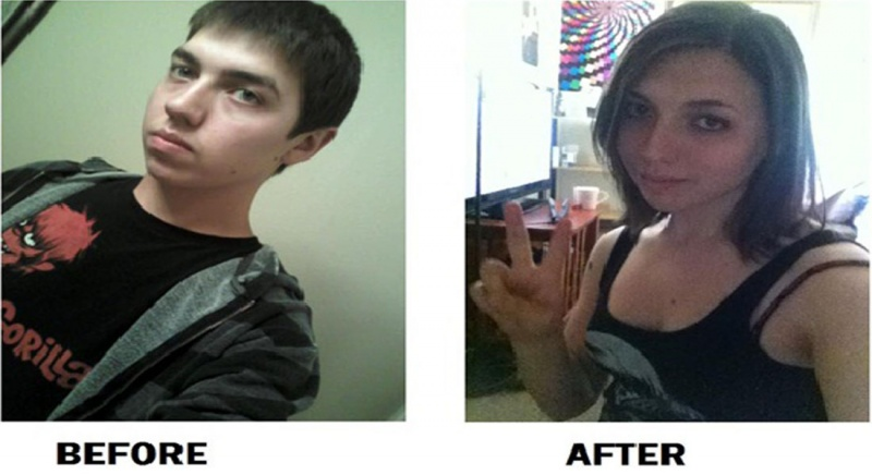 Male to female transformations