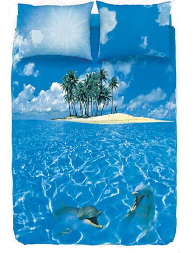 Beach bed sheet-15 Most Insane Bed Sheets That Will Make You Say WTF!