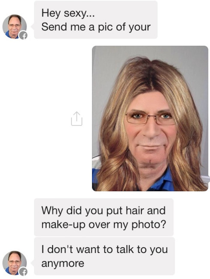 Former Stalker, Now a Pretty Pink Princess-15 Images Of Women Trolling Creepy Guys