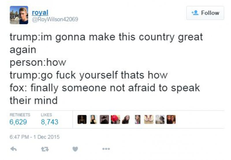 Another Guy-15 Hilarious Tweets About Donald Trump Sure To Make You Laugh