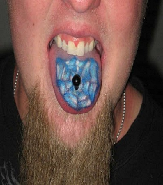What Does That Tat Represent?-Weirdest Tongue Tattoos