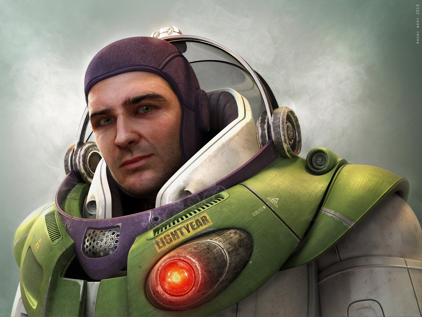 Buzz-lightyear-Realistic Drawings Of Cartoon Characters