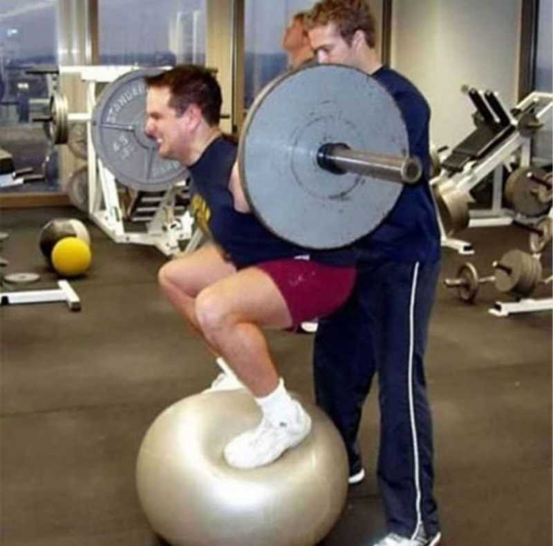 This Weird Squat Exercise -15 People Who Failed At Evolution Badly