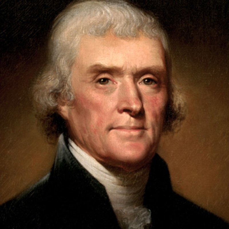 Thomas Jefferson-15 Famous Personalities Who Married Their Family Members
