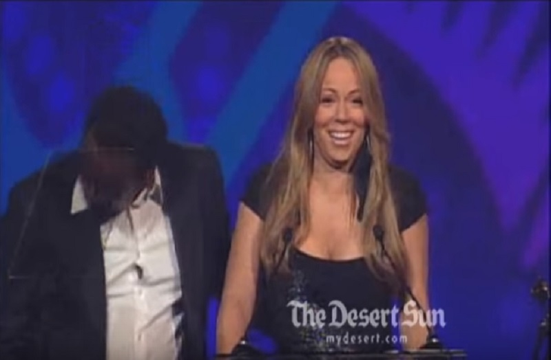 Mariah Carey Gave A Drunken Speech At 2010 Palm Springs Film Festival-15 Trashy Things Celebs Have Done Drunk
