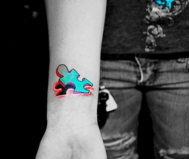12 Amazing 3d Puzzle Tattoos Ever