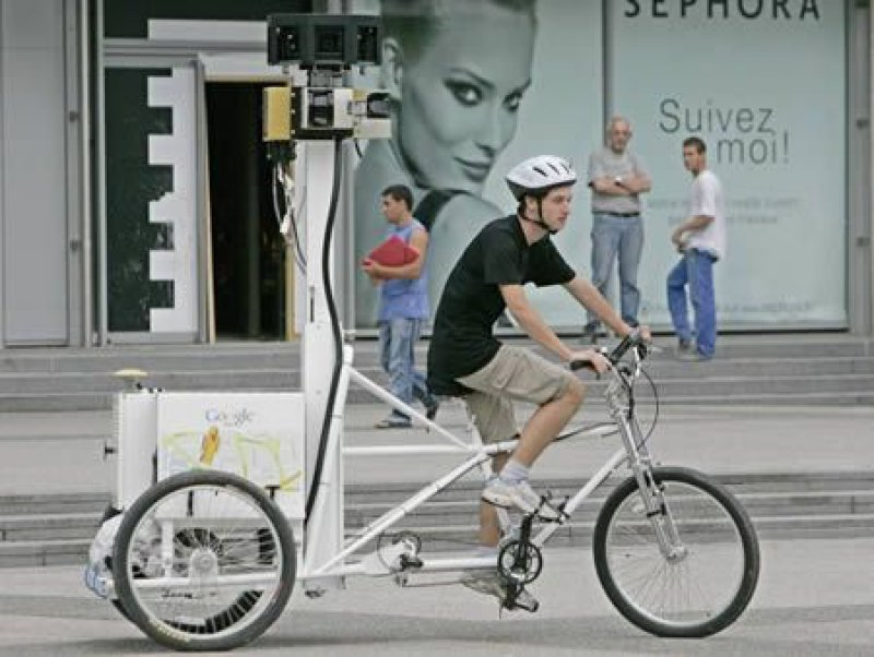 Google Maps Bike Rider-15 Weird But Good Paying Jobs That Don't Require You To Be Naked In Front Of Someone