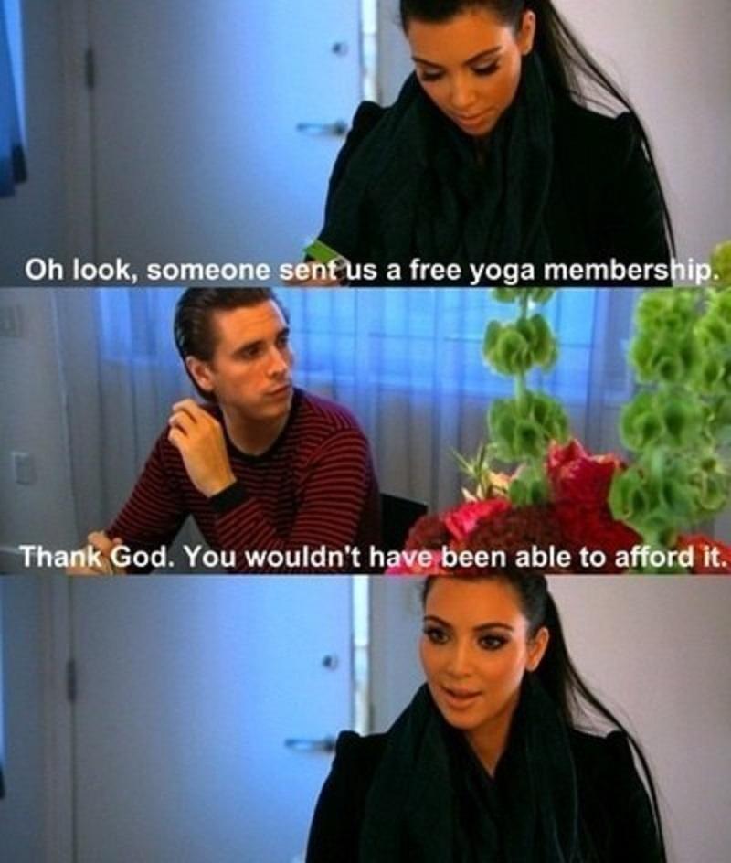Scott Disick Once Again-15 Times Kim Kardashian Was Shut Down By Her Family