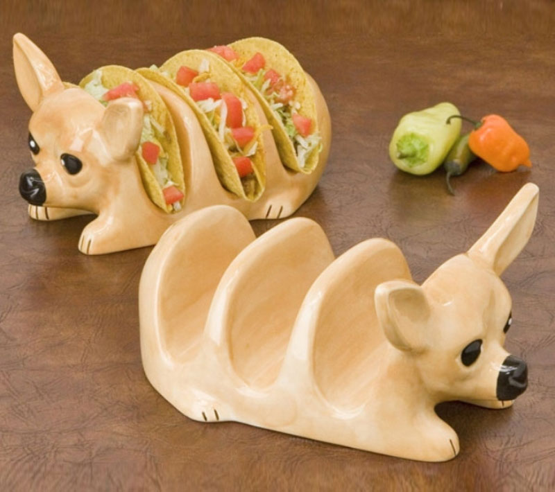 Chihuahua Taco Holder-15 Perfect Gift Ideas For Food Lovers