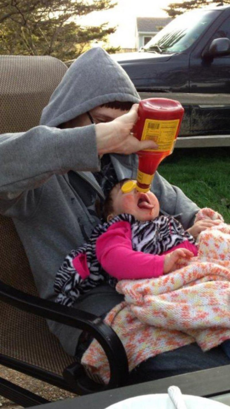 It's all Fun and Games Until Something Terrible Happens-15 Images That Show Parenting Isn't Meant For Everyone