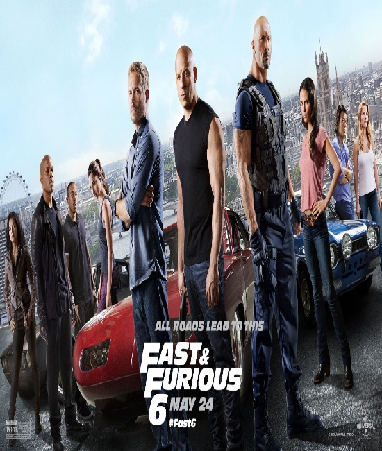 Fast and Furious 6-Best Movies Released In 2013 Till Now