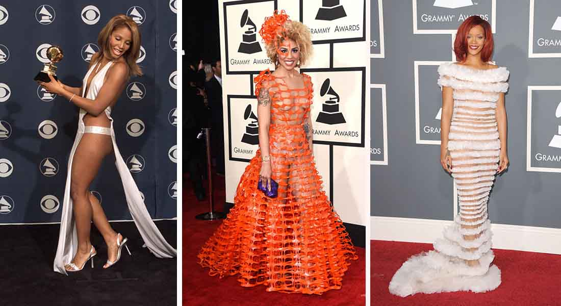 15 Weirdest Outfits At The Grammys Over The Years