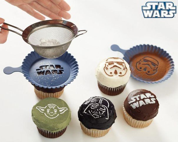 Star Wars Cupcake Sprinkler-15 Geeky Kitchen Gadgets That Will Make Your Kitchen A Super Kitchen