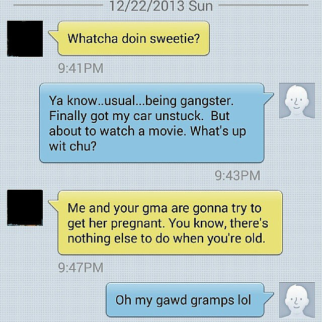 Nothing Wrong in Trying-15 Hilarious Texts From Grandparents