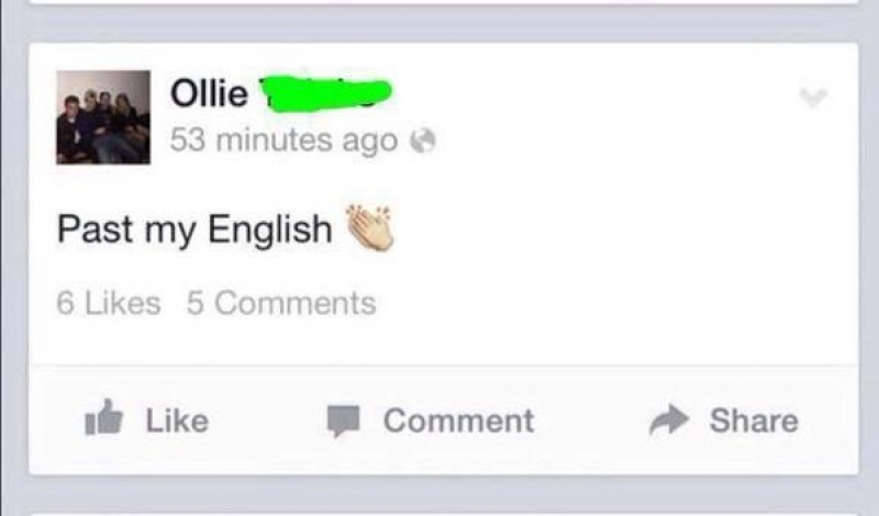 Who is His English Teacher?-15 Images That Will Make You Lose Faith In Education System