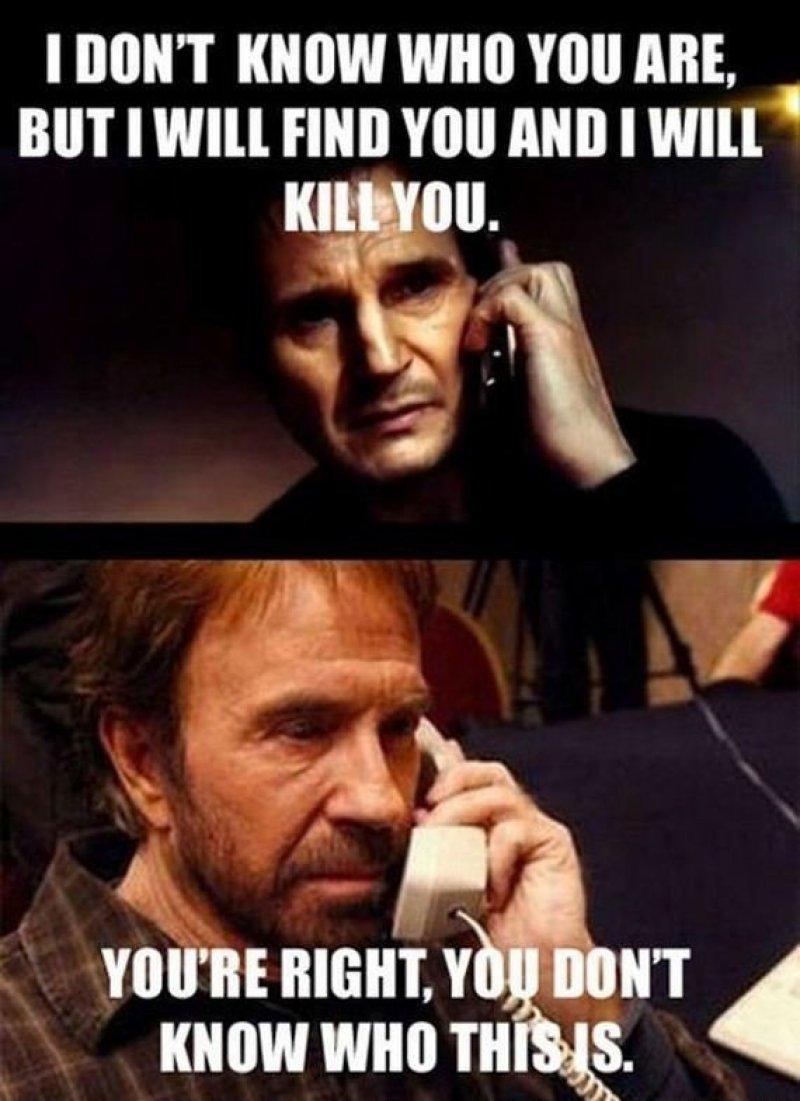 Liam Neeson vs. Chuck Norris-12 Hilarious Chuck Norris Memes Ever