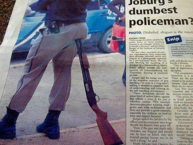 This Policeman-15 Terrible Accidents Waiting To Happen