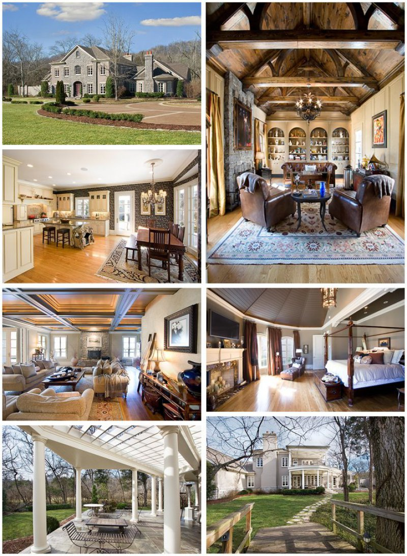 LeAnn Rimes-15 Amazing Celebrity Houses That Are Worth Millions