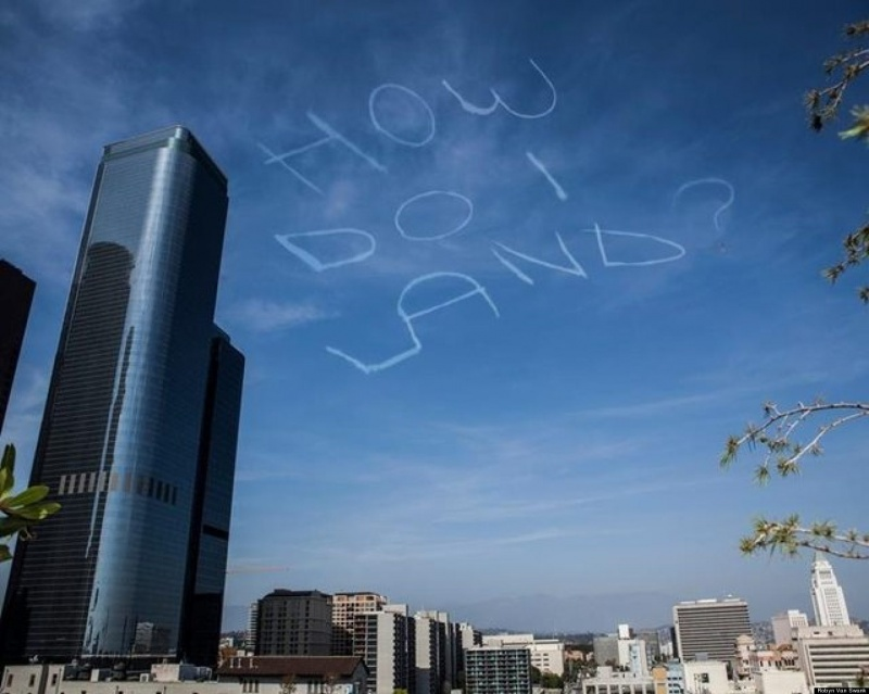 Plane Writing Stupid Things On Clouds-7 Bizarre Kickstarter Campaigns You Could Fund