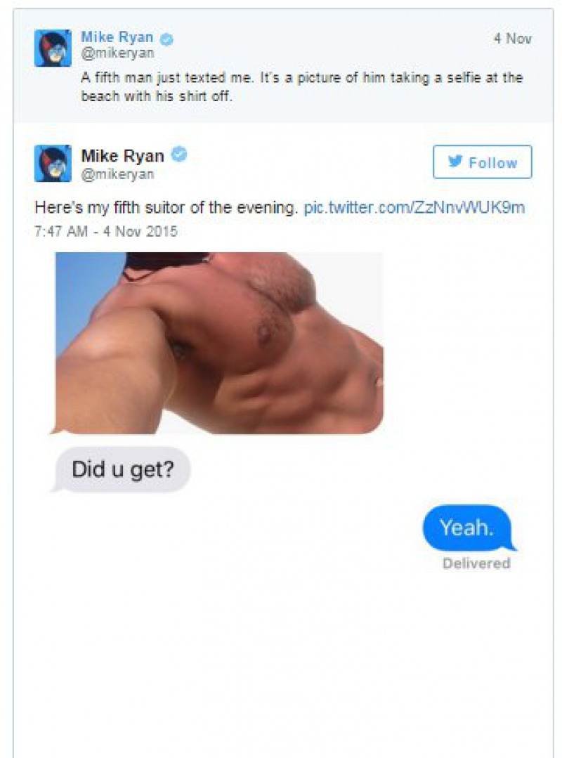 Fifth Guy Made an Entry-Guy Hilariously Replies To Dick Pics He Got After A Stranger Gave Out His Number On Tinder
