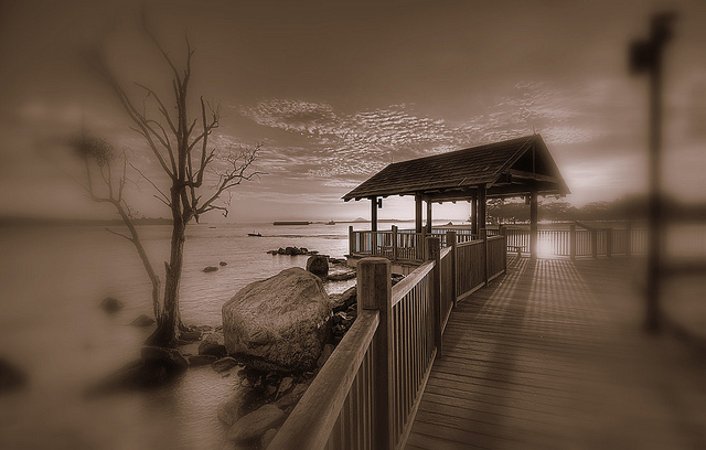 Changi beach-Most Haunted Places In The World