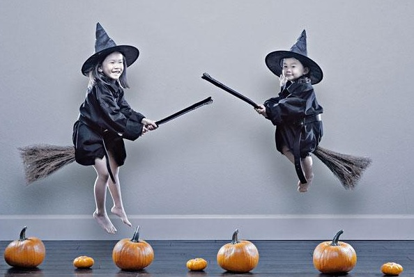 A cute little witch-Crazy Photos Of Daughters By Their Dad