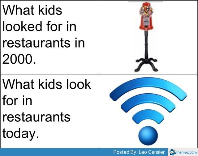 Wifi Is All We Need-Pictures That Will Make You Pity This Generation