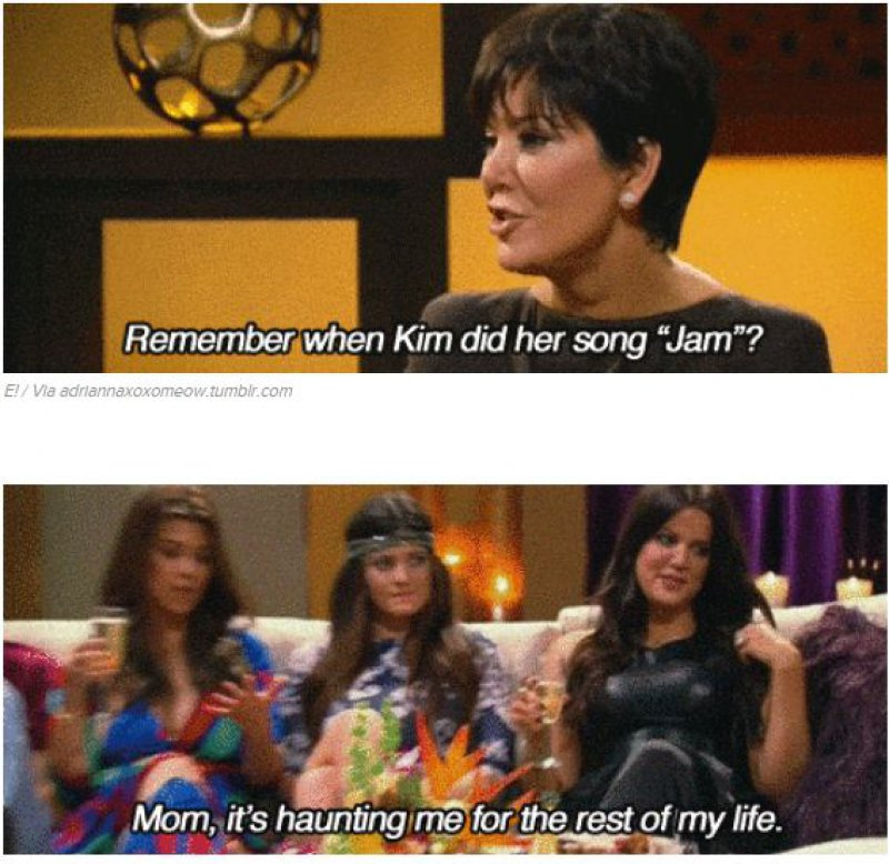 Khloe's Reaction on Kim's Infamous Pop Song-15 Times Khloe Kardashian Perfectly Shut Down Her Family