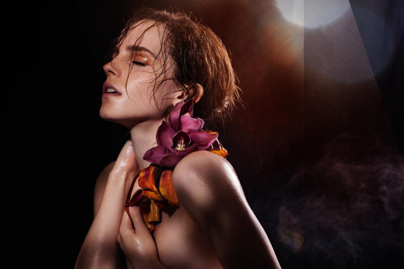 "Emma Watson for ""Natural Beauty""-15 Celebrities Who Have Stripped For Charity"