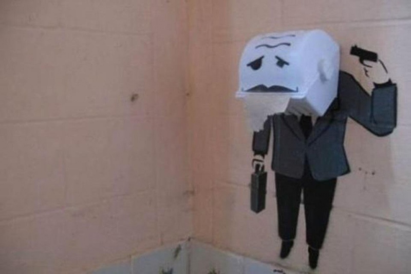 Something is Wrong with This Sir-15 Hilarious Toilet Graffiti Images Ever
