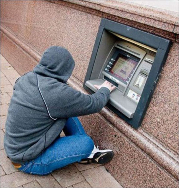 ATM for Kids, Dwarfs, Dogs, Cats etc-15 Disturbing Images You Never Want To See