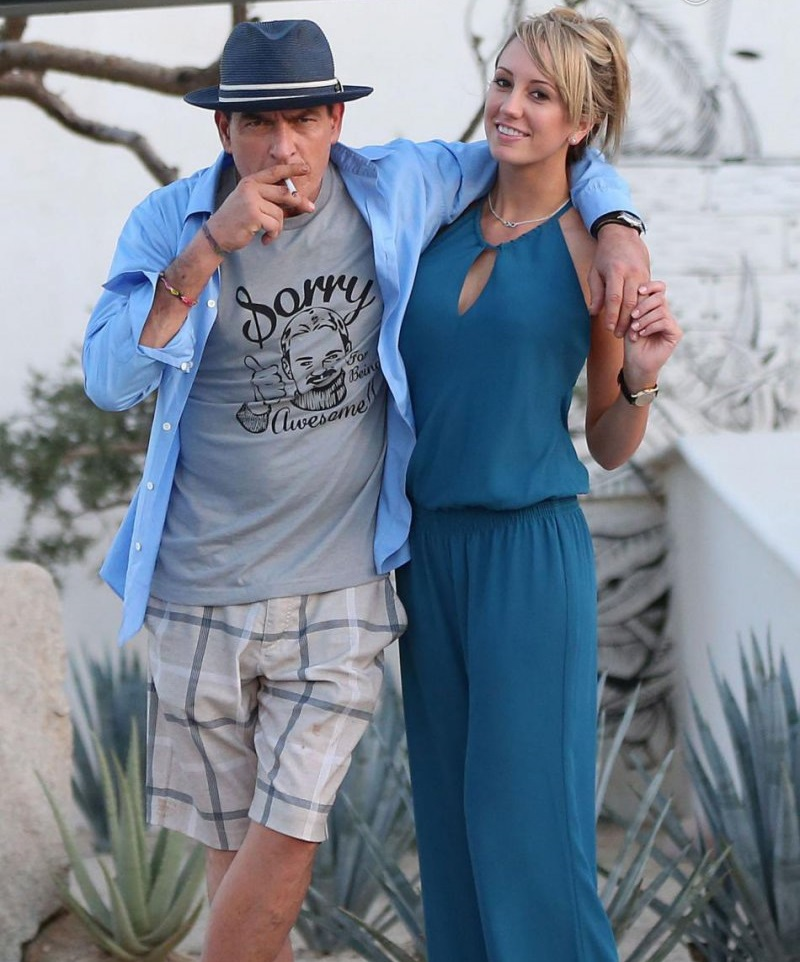 Charlie Sheen And Brett Rossi-Charlie Sheen And His 13 Well Known Girlfriends