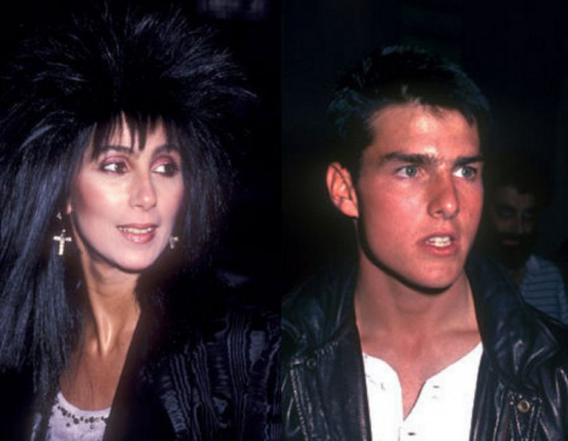 Cher Dated Tom Cruise-15 Bizarre Celebrity Secrets You Don't Know