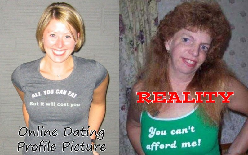 Online dating fail girl
