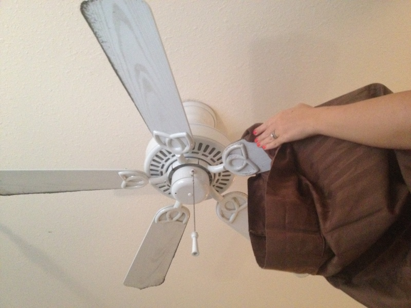 Use an Old Pillow Cover to Clean Fan Blades-15 Lazy Hacks That Will Make Your Life Simpler