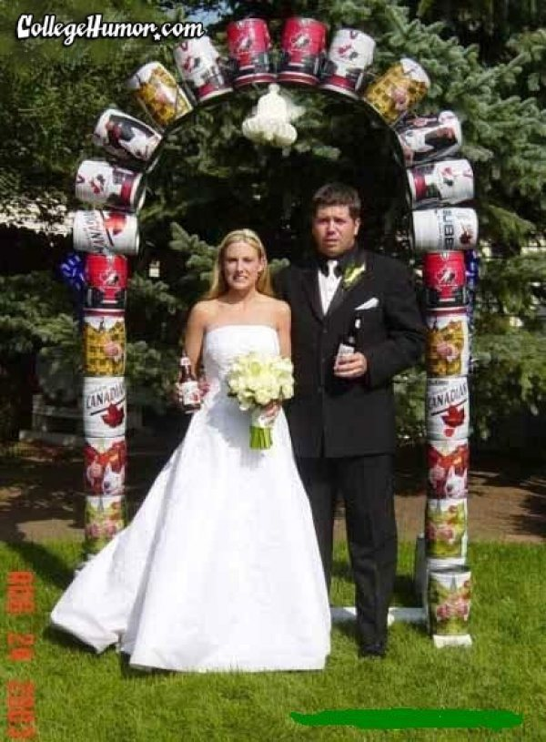 15 Funny Redneck Marriage Photos