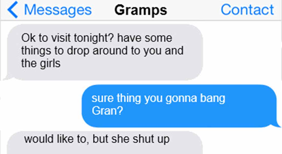 15 Hilarious Texts From Grandparents
