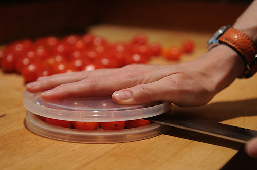 Cutting Cherry Tomatoes-15 Things You've Been Doing Wrong Your Entire Life