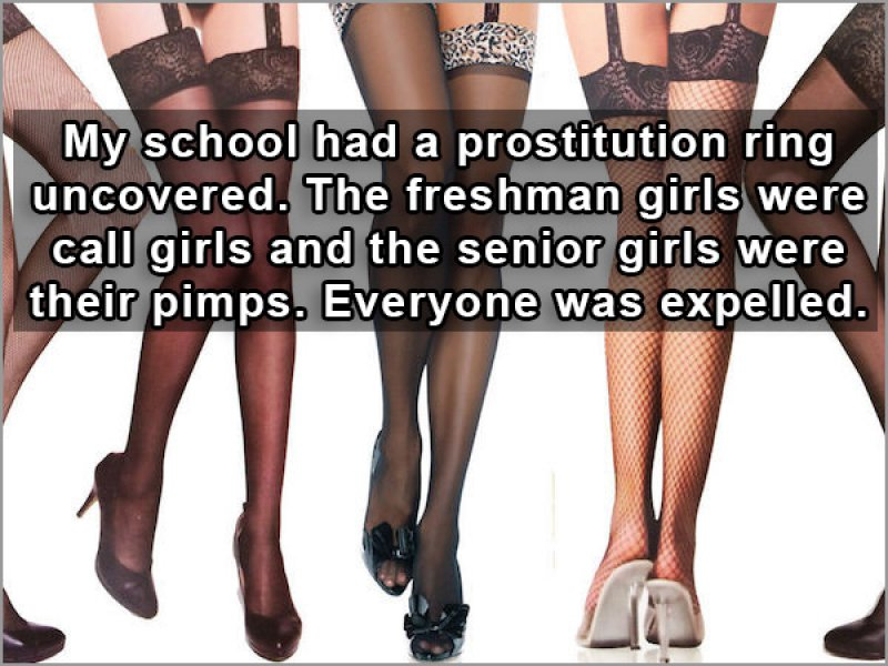 School nowadays-15 People Reveal The Craziest Scandals That Happened In Their High School