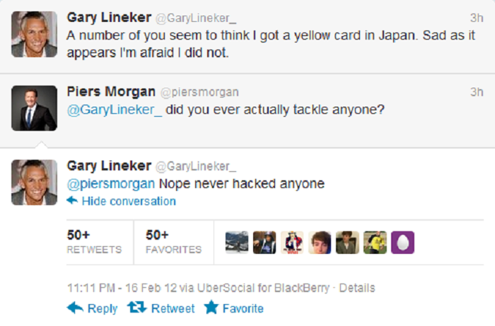 Piers Morgan Vs. Gary Lineker-15 Hilarious Twitter Comebacks Ever