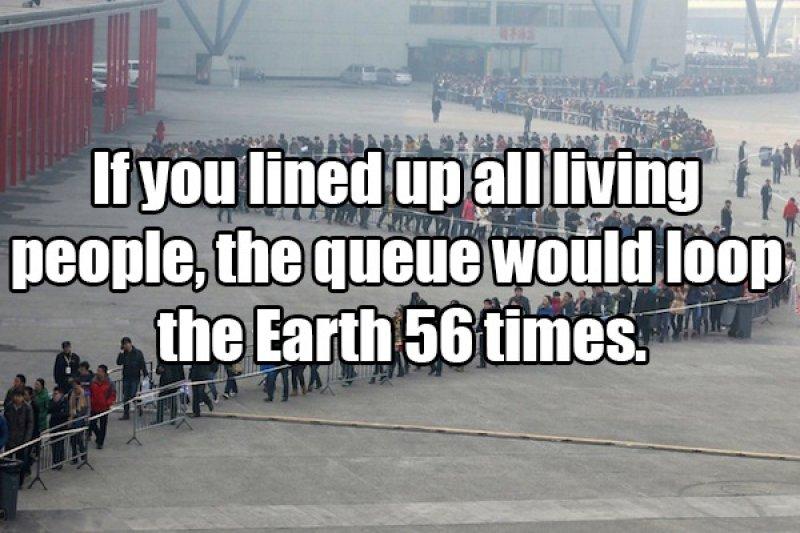 So Many people-15 Amusing Facts That Are Actually True