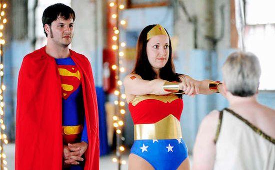 Superman Wedding Theme-15 Most Bizarre Themed Weddings Ever