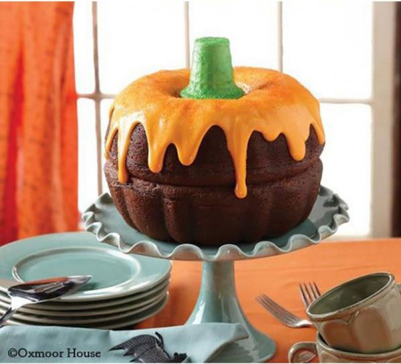 This Pumpkin Cake-15 Funniest Halloween Recipe Fails