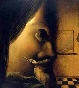 Salvador Dali-15 Best Optical Illusions Of All Time