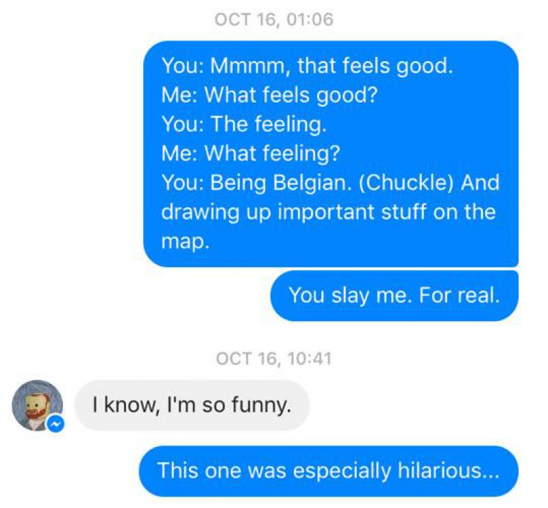 Being a Belgian!!!-Wife Texts All The Things Her Husband Says In His Sleep(12 Photos)