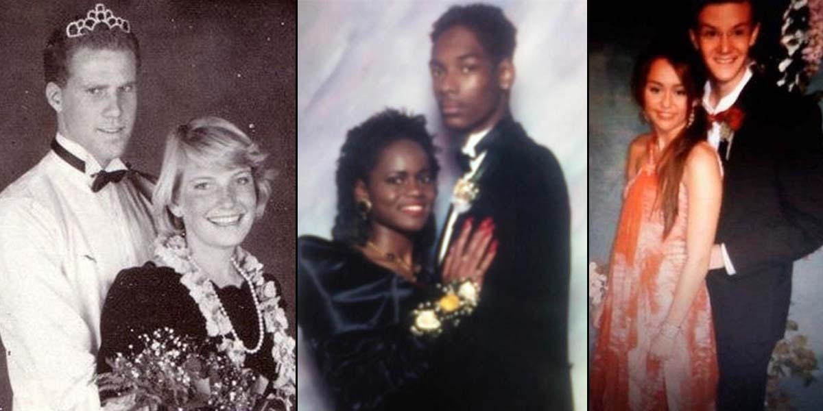 15 Rare Unseen Celebrity Prom Photos